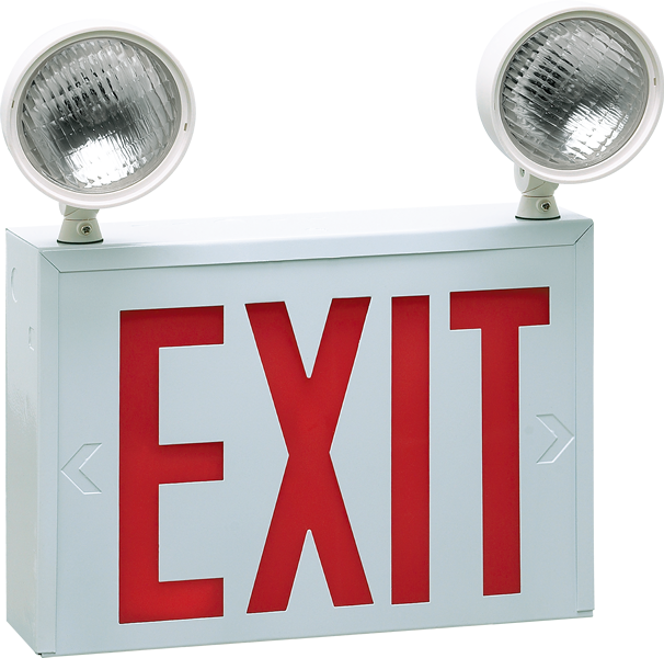 EXIT - EM - NYC New York City-Approved Exit & Emergency Light