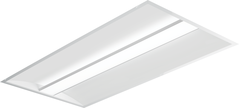 AT3 Architectural LED Troffer - Straight Floating Center