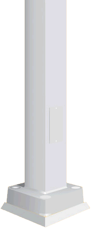 ST Square Tapered Pole